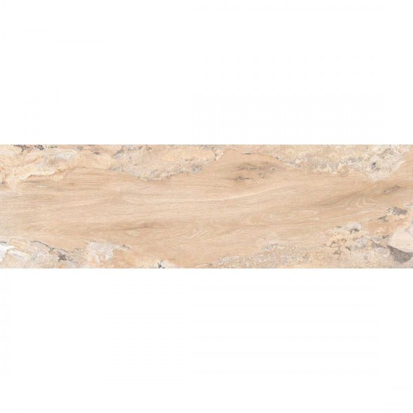 Gloss Wood 20x120cm Crema Polished