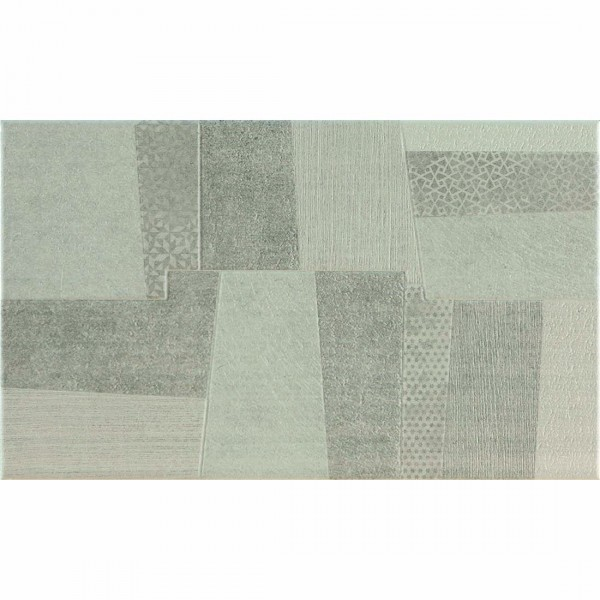 Bologna Dromix Decor 33.3x55cm Grey Mix Matt