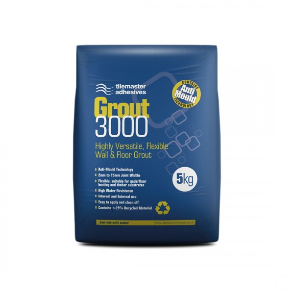 TileMaster Grout 3000 (Pure White)